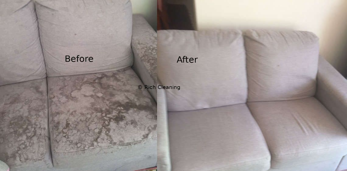 You Can Find Many Before And After Couch And Upholstery Cleaning