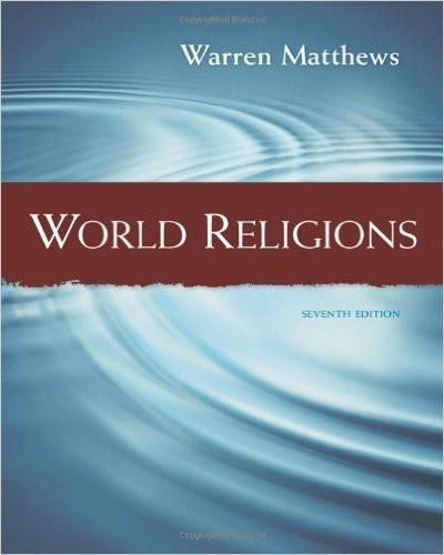 World religions 7th edition by warren matthews isbn 13 978 world religions 7th edition by warren matthews isbn 13 978 1111834722 fandeluxe Image collections