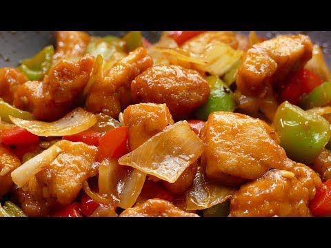 Youtube Pollo Agridulce Chino Pollo Chino Y Comida China