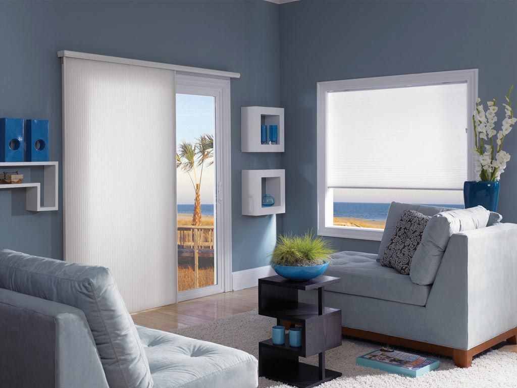 Vertical Cellular Shades For Sliding Glass Door Window Shades
