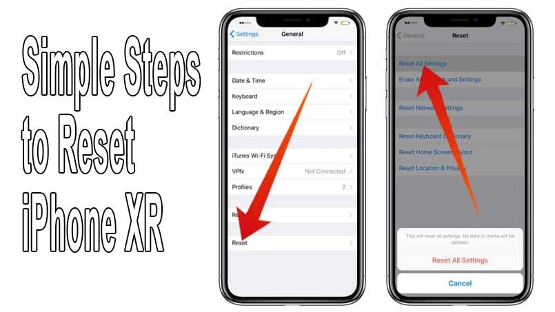 How To Reset Iphone Xr Find The Easily Ways Here Iphone Tutorial Iphone New Operating System