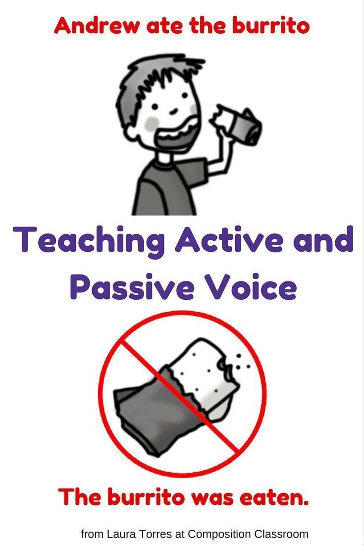 Teaching active and passive voice in the classroom. From Laura ...