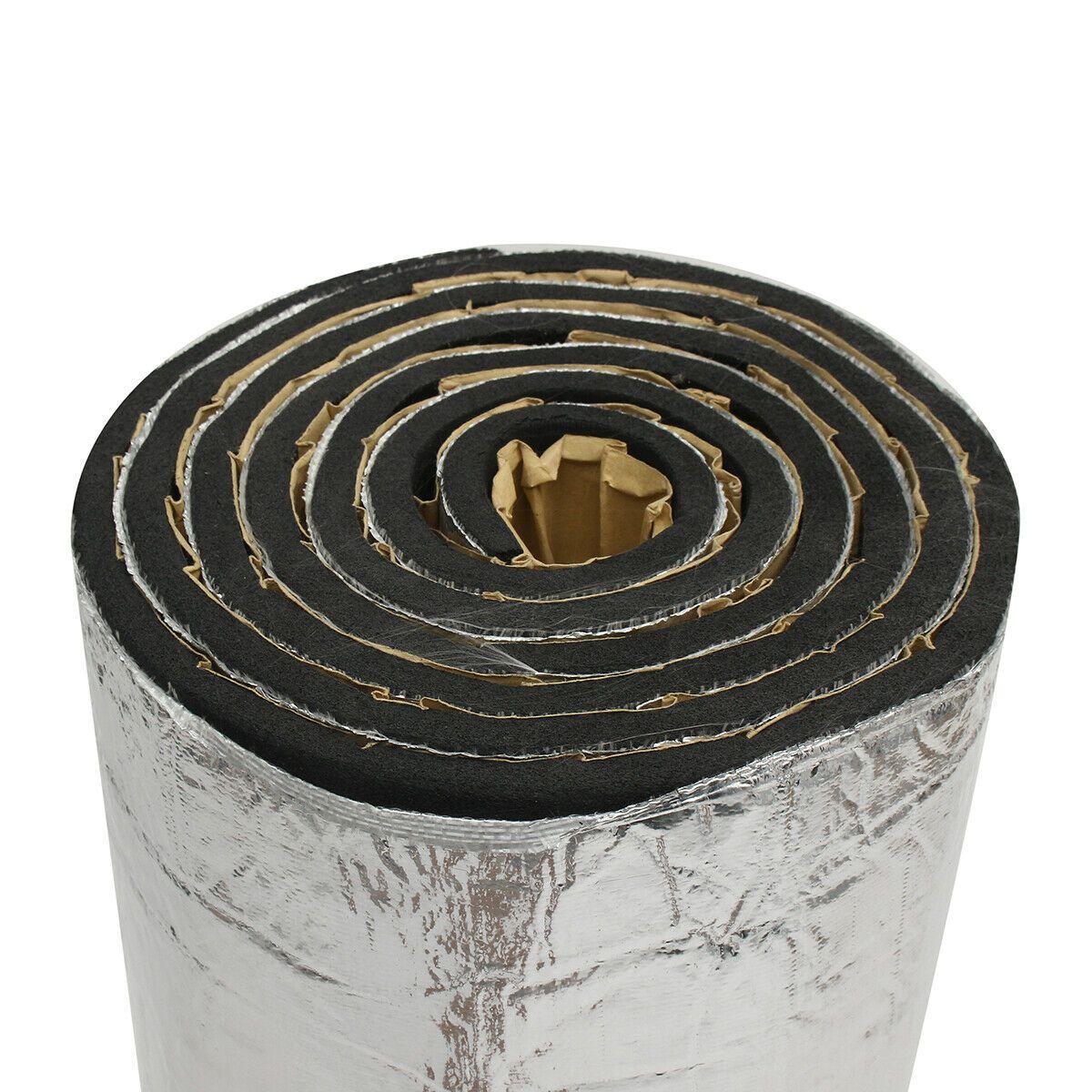 Car RV Engine Audio Heat Shield Insulation Proof Sound