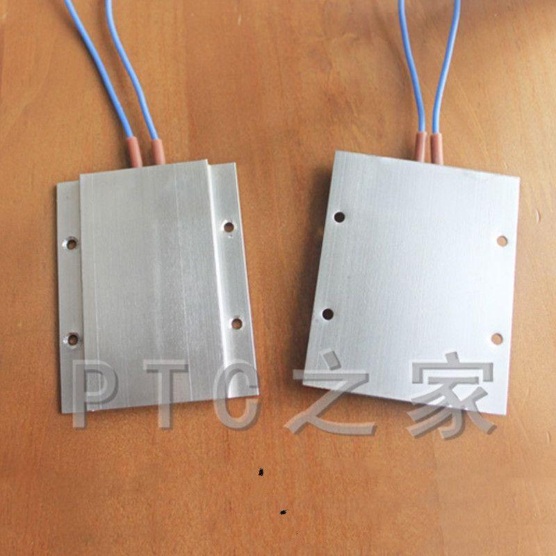 110v 220 Degree Ac Dc Aluminum Ptc Heating Element Thermostat Heater Plate Liquid Heater 77 62 6mm Cheap Air Conditioner Ceramic Heater Air Conditioner Parts
