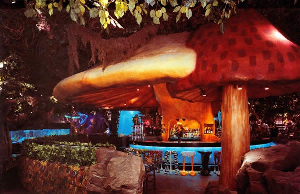 Rainforest Cafe Features The Magic Mushroom Juice And