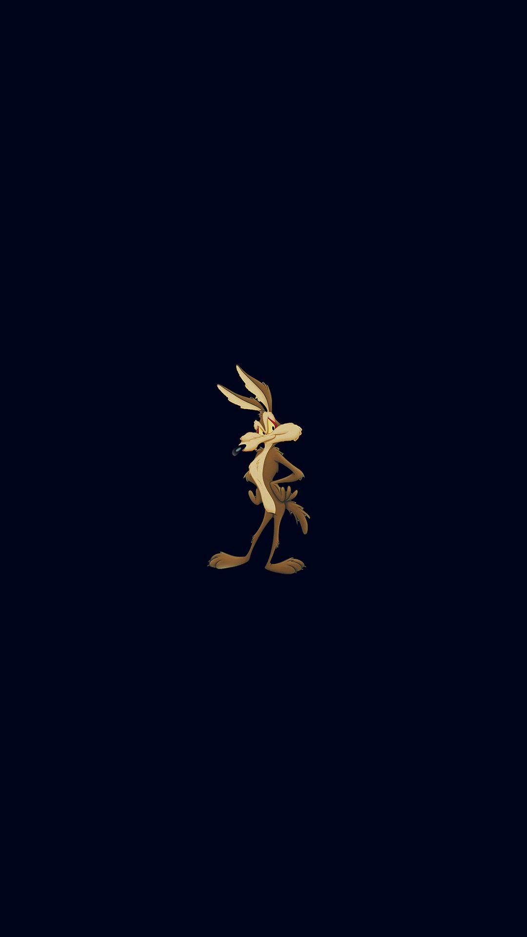Cute Bugs Bunny Cartoon Dark Illust Art IPhone 7 Wallpaper