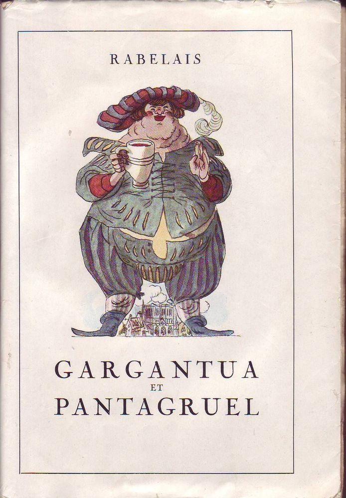 Details Sur Gargantua Et Pantagruel Rabelais Garros