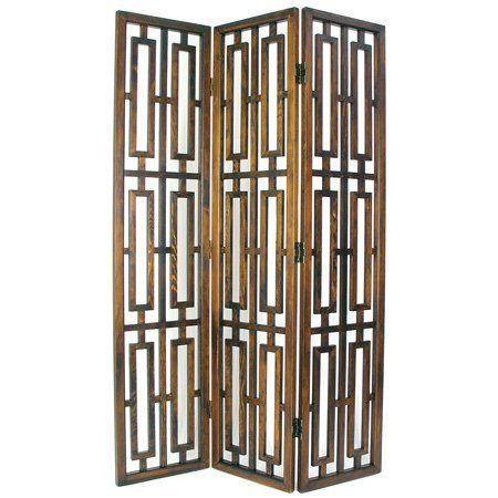 6 ft. Tall Bookmark Room Divider - OrientalFurniture.com
