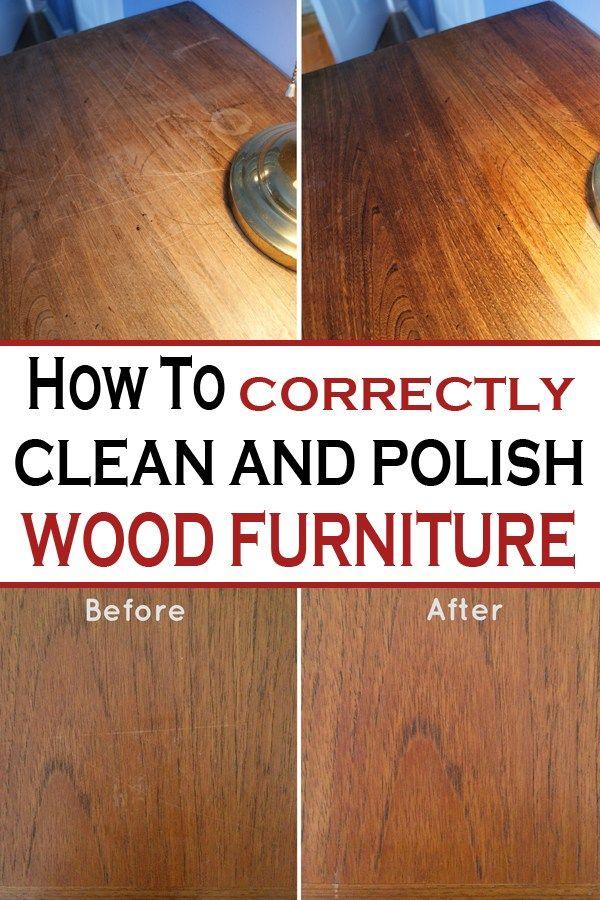 How To Correctly Clean And Polish Wood Furniture Wood Polish