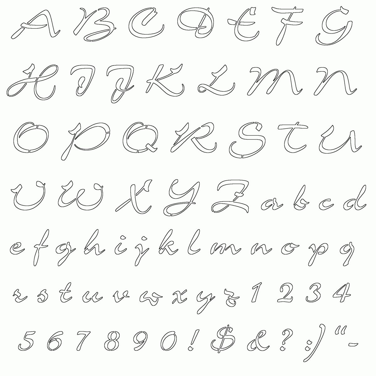 Free Free Calligraphy Worksheets Pictures