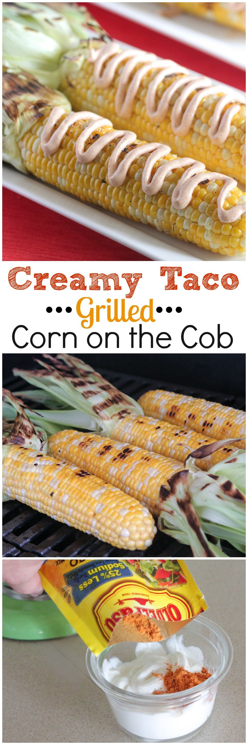 Photo of Taco Grilled Corn on the Cob