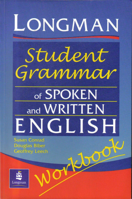 Student grammar of spoken and writtern english workbook   English ...