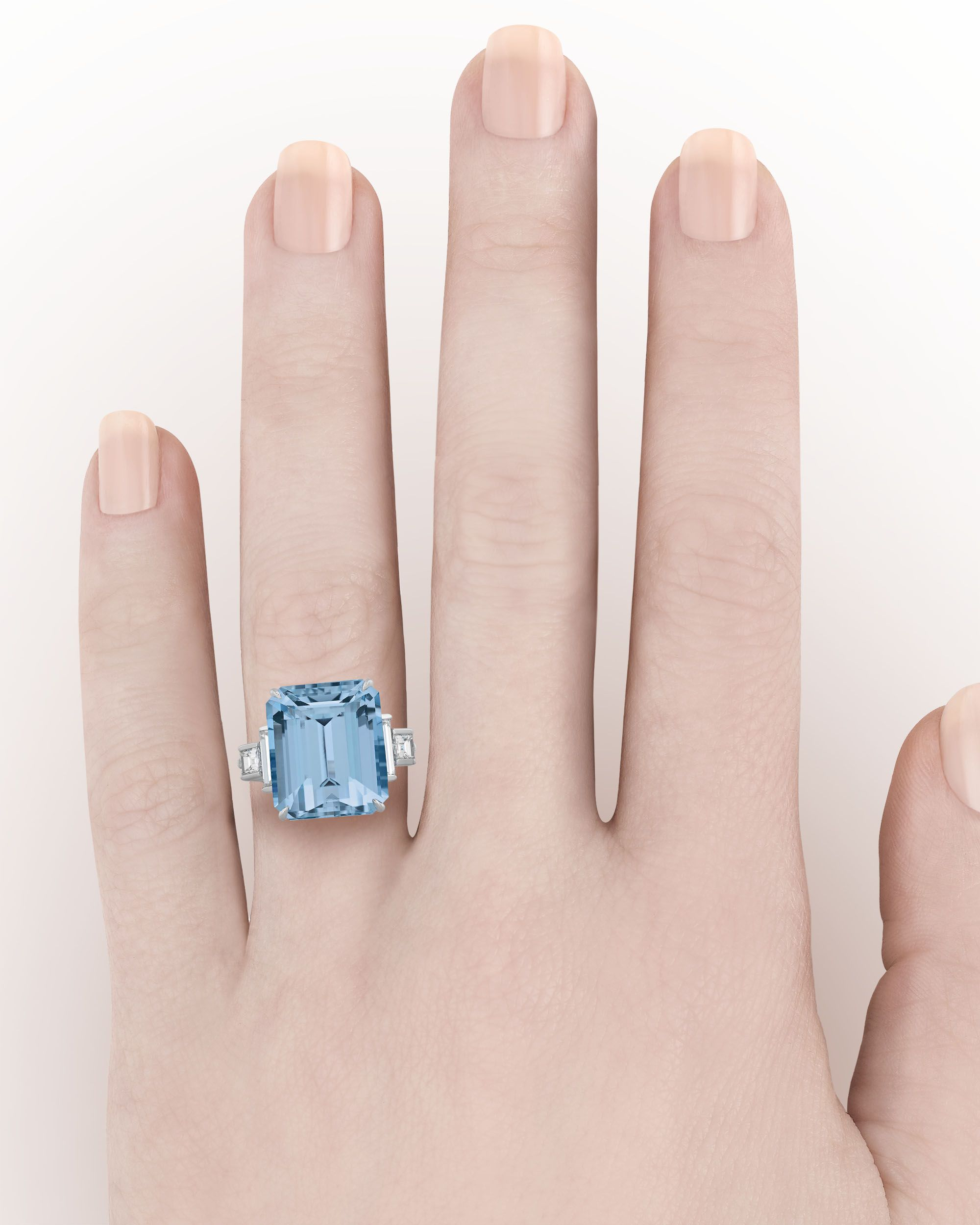 Aquamarine Ring by Tiffany & Co., 15.00 Carats ~ Desig… | Amazing ...