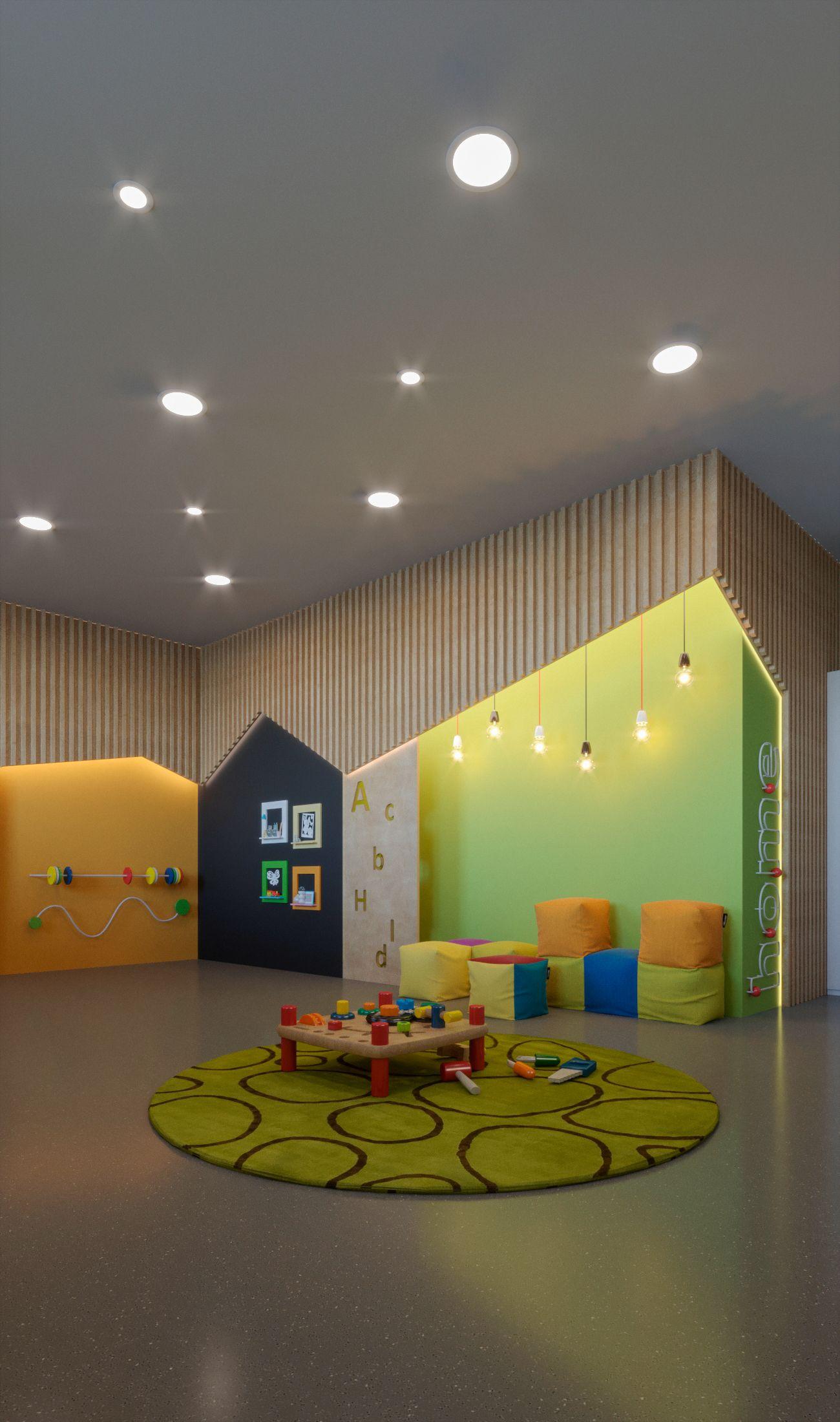 Pin by Celile Buyukdemir on Anaokulu | Kindergarten interior