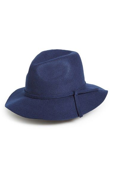 Emanuel Geraldo Knot Band Wool Felt Panama Hat available at #Nordstrom