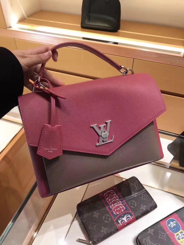 dc236abd9e2e Louis Vuitton My Lockme Schoolbag M54997 Rose  m54997  louis  vuitton   lvm54997
