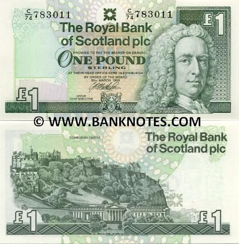 Scotland Currency Scottish Currency Bank Notes British Paper Money World Currency Bank Notes Money Collection Paper Money