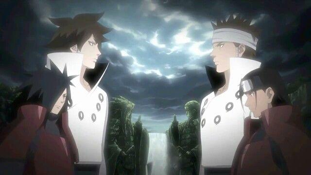 Indra and Ashura. Madara and Hashirama. | Anime