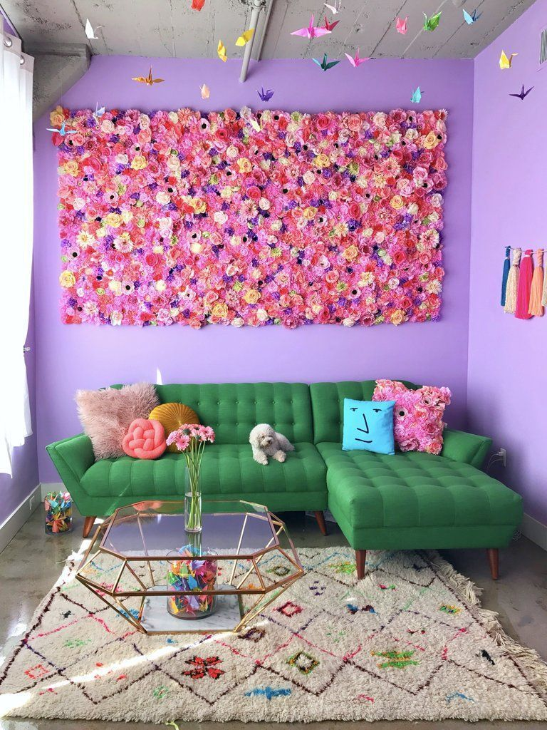 Epic Flower Wall So Cute Decor Flowers Floral Pretty Pink