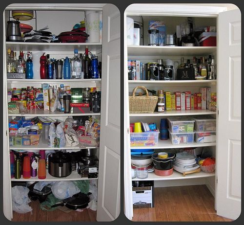 Pantry Overhaul Without Spending a Dime