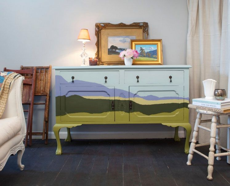 Upcycle Furniture Finds With Paint: There Are Products Out There  Specifically Designed To Help You Transform Your Thrift Store Scores.