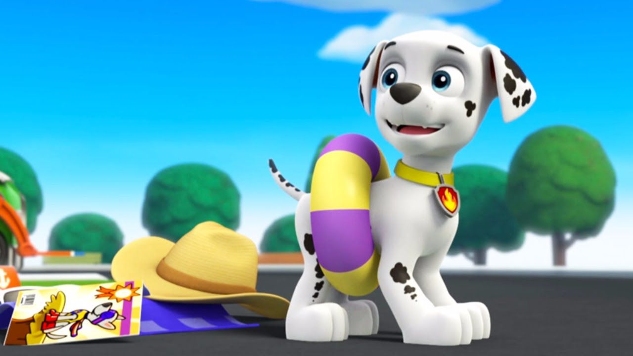 ☆ Animation Movies For Kids ☆ Pups Save a Pool Day Circus ☆ Pup ...
