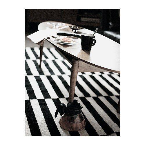 stockholm teppich flach gewebt 250x350 cm stripes black ivory white ikea i don 39 t want. Black Bedroom Furniture Sets. Home Design Ideas