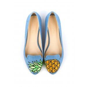 Ballerine BECCA Bleu - Ballerines - Chaussures Printemps-Eté - NOUVELLE CO'