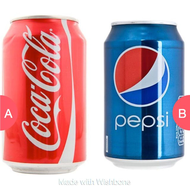 Coke or Pepsi? Click here to vote @ http://getwishboneapp.com/share/2159636