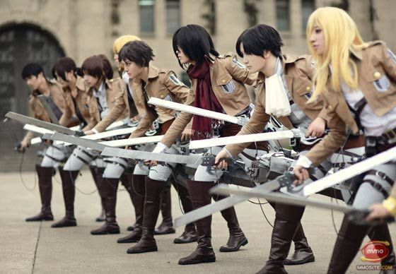 Cosplay The Hero Of Attack On Titan