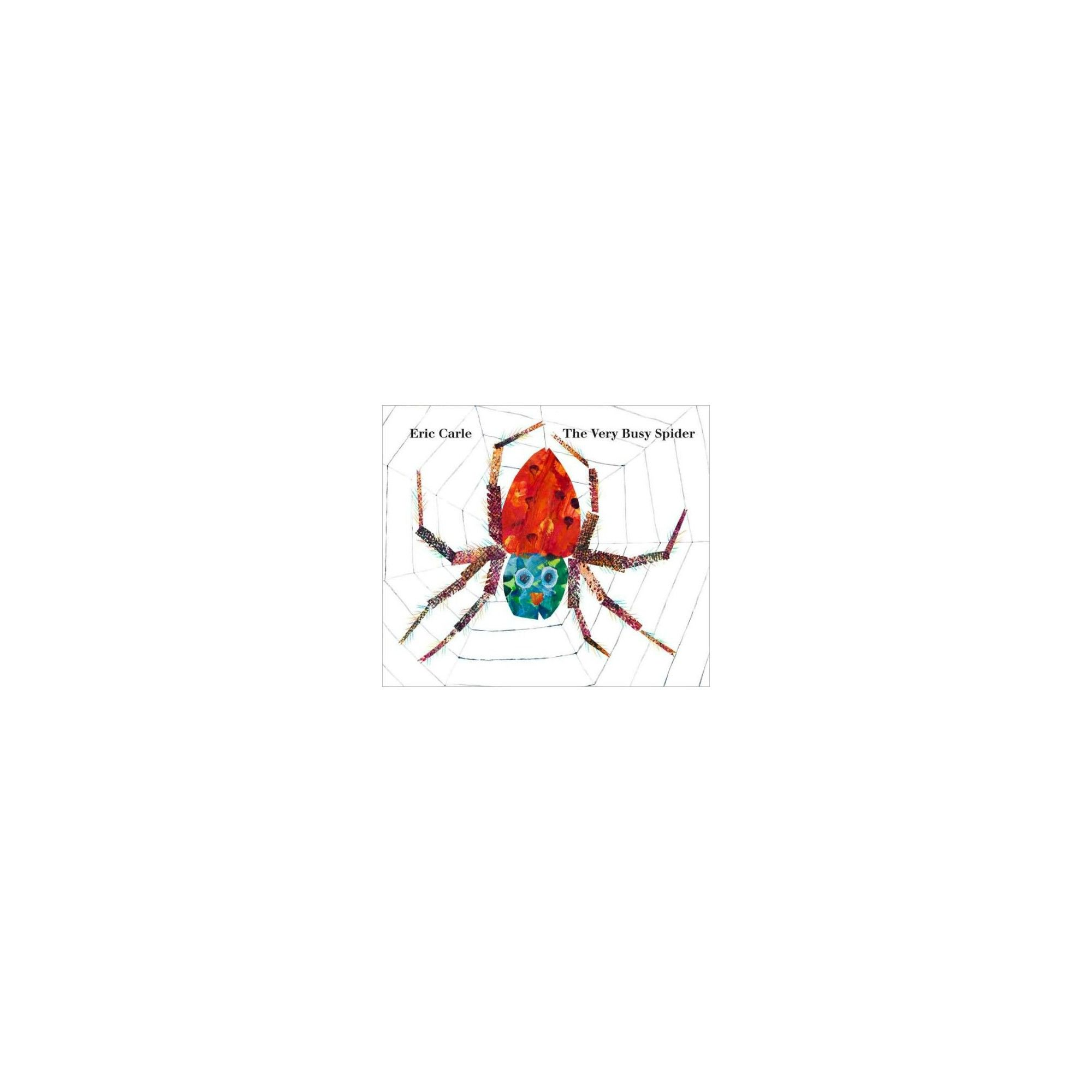 The Very Busy Spider (Reprint) (Board) by Eric Carle The