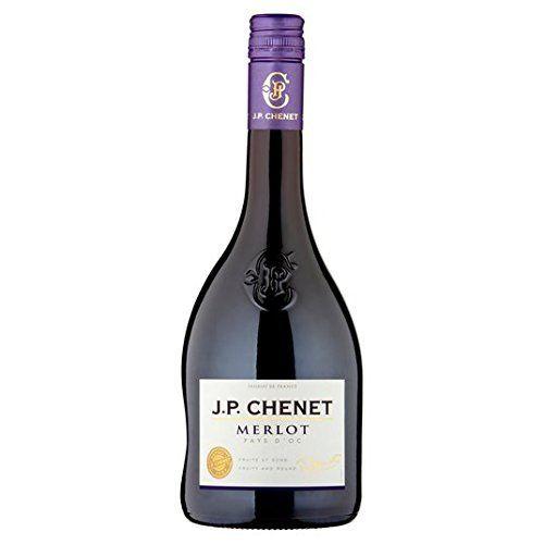 JP Chenet Merlot 75cl Type du0027emballage Bouteille Pays du0027origine