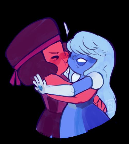 Ruby kissing sapphire steven universe steven universe - Ruby and sapphire su ...