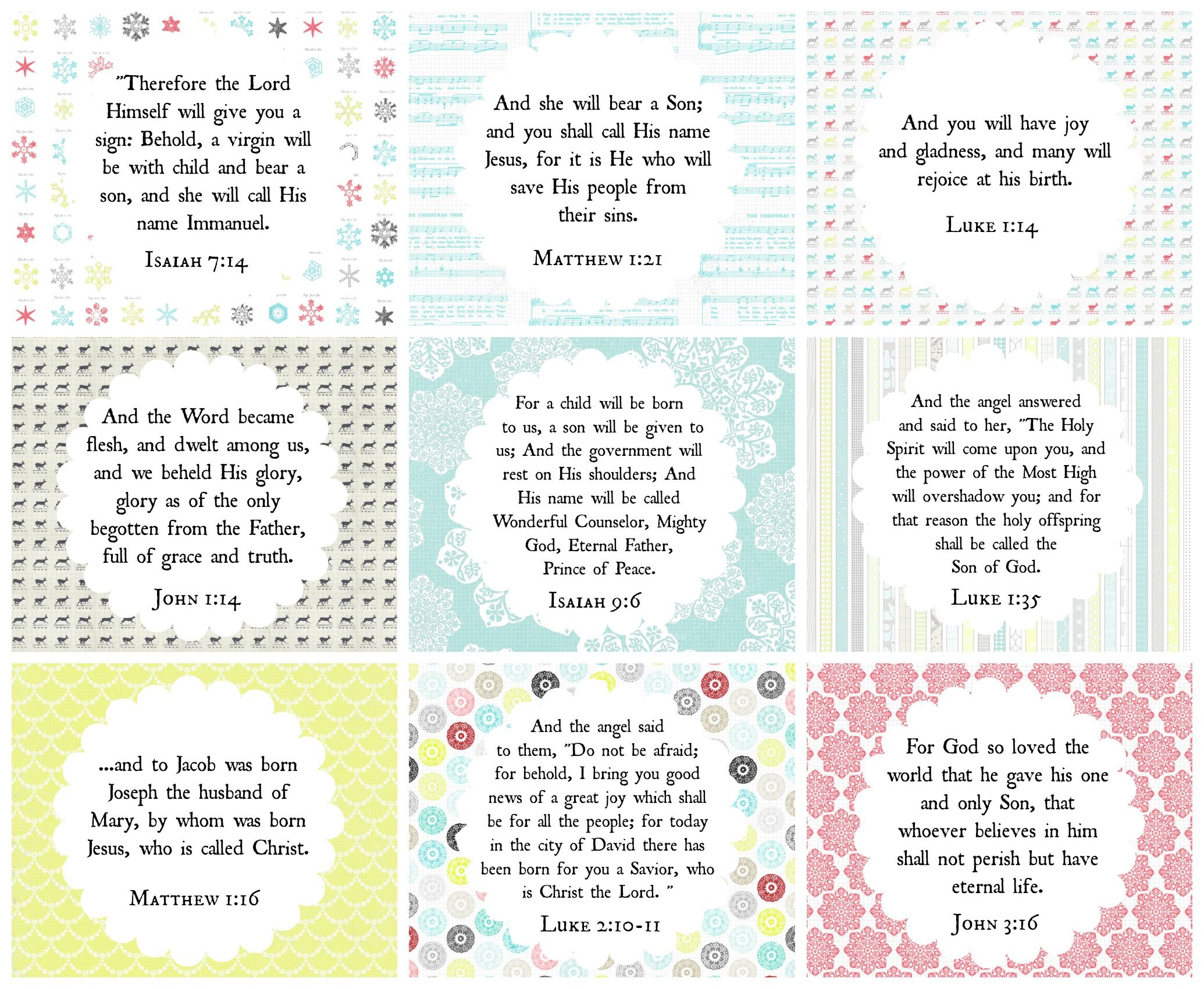 He IS our gift <3 Another set of free Christmas printables for you from Proverbs 31 Online Bible Studies!