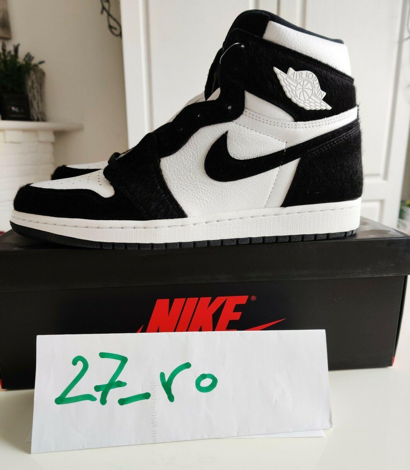 Nike Air Jordan 1 Retro High OG Twist Panda Black White