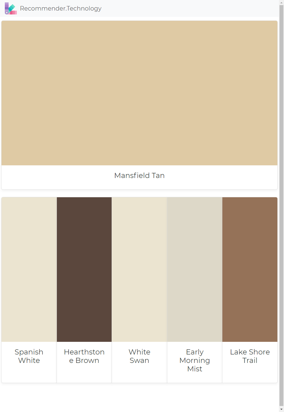 Brown Paint Colors
