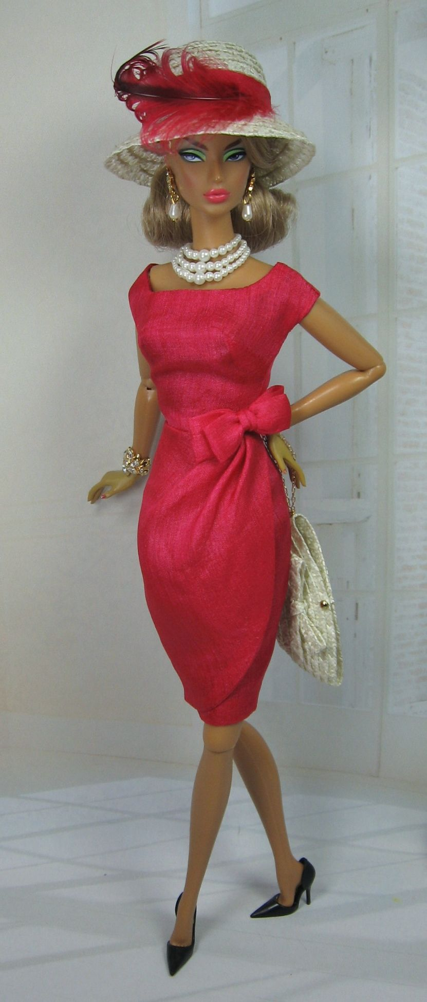 Drapeau Rouge for Silkstone Barbie and Victoire Roux on Etsy now