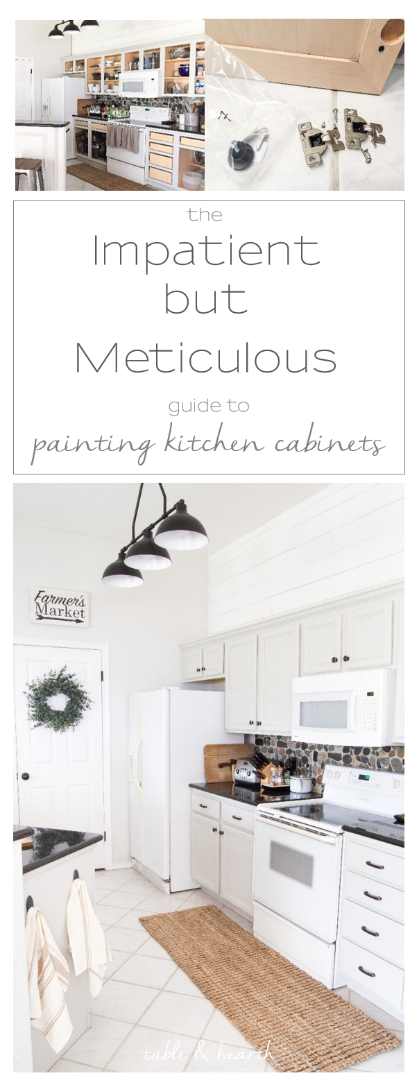 The Impatient-but-Meticulous Way to Paint Your Kitchen Cabinets ...