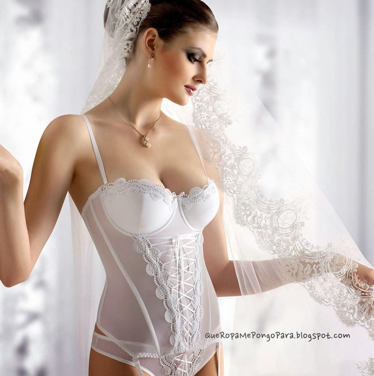 Lenceria para novias que ropa me pongo para mi noche de - Ropa interior hombre transparente ...