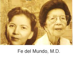 A woman, Fe del Mundo, got an offer from the president of the Philippines for a full scholarship to any medical school in the U. S. after graduating as valedictorian from University 1933. She chose Harvard Medical School in 1936, even though HMS wasn't admitting women. Harvard was surprised to find that they admitted a woman to their all-male institution but they kept her. She would later found the Fe del Mundo Medical Center, the first children's hospital in the Philippines.