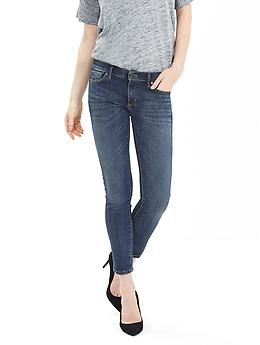 Medium Wash Skinny Ankle Jean | Banana Republic