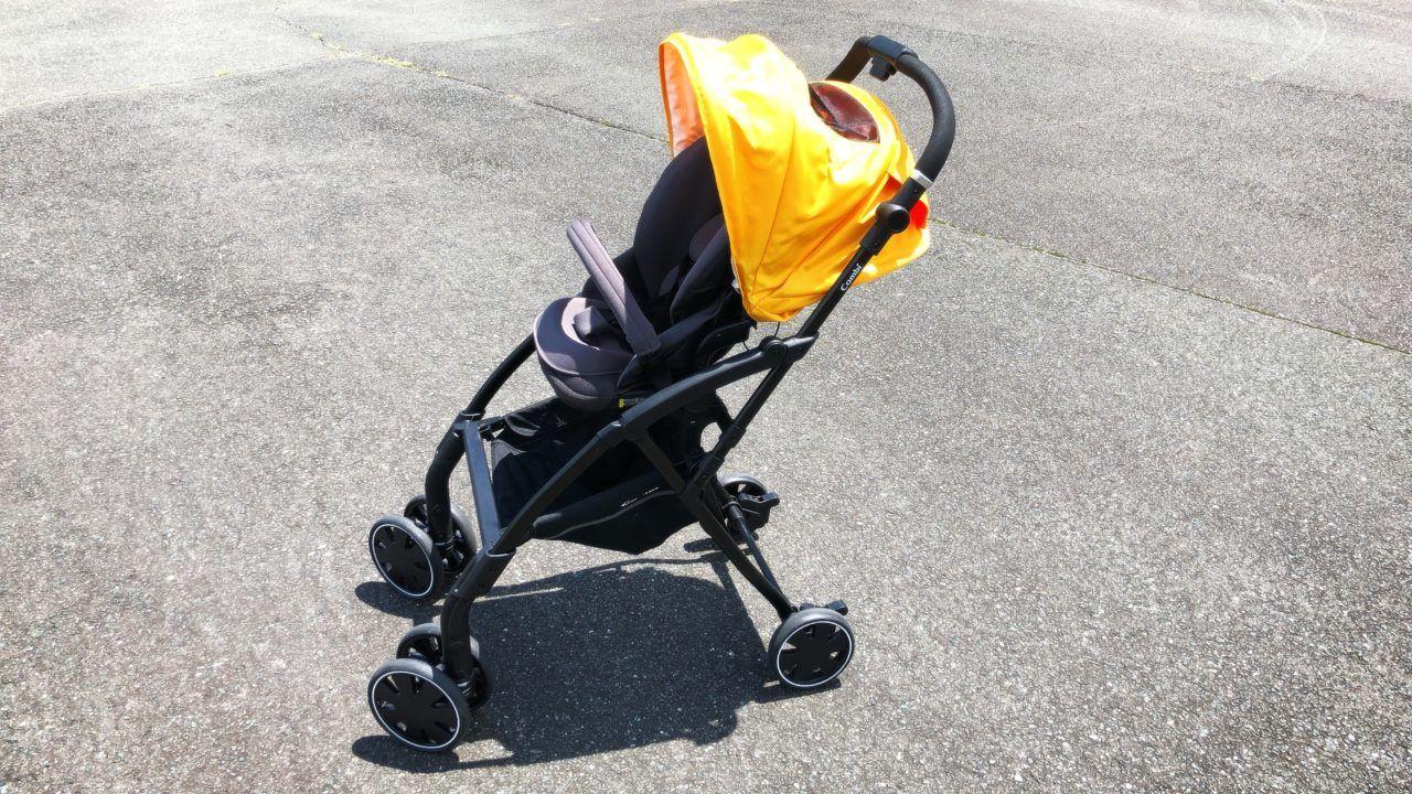 背が高い人に断然おすすめなベビーカーはコンビatto アット 使用感レビューあり ベビーカー 赤ちゃん コンビ