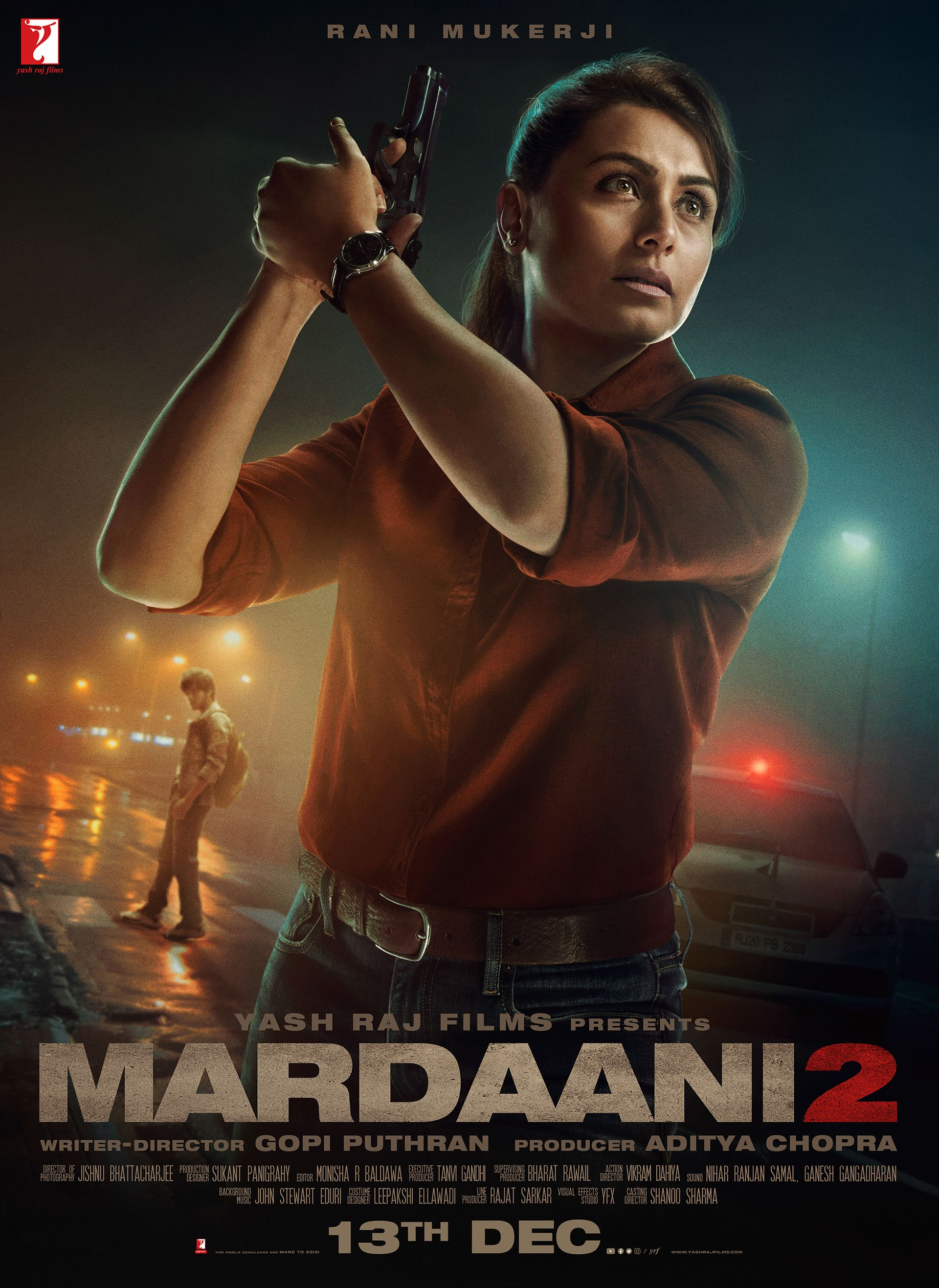 Mardaani 2 Film Poster On Behance