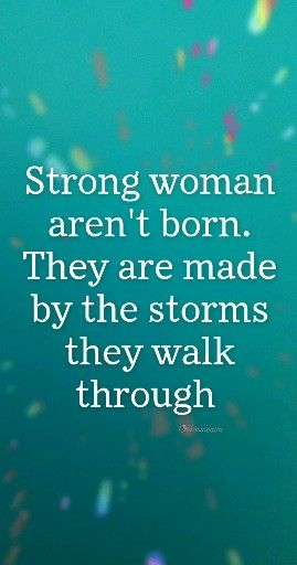 Stronger From The Storms