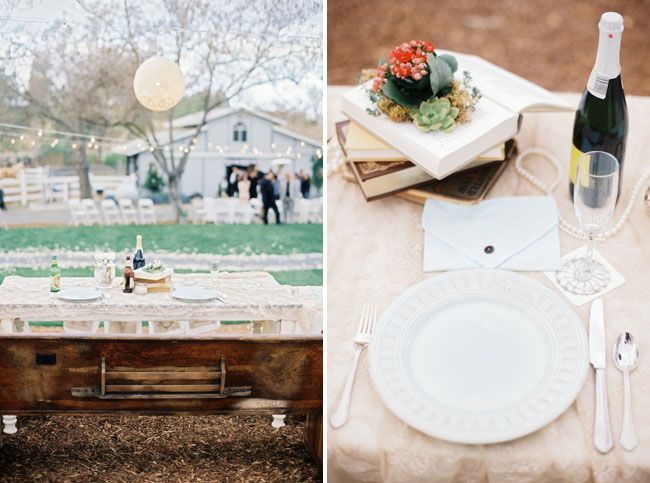 Backyard Wedding on a Budget: Jadie + Johnny (With images ...