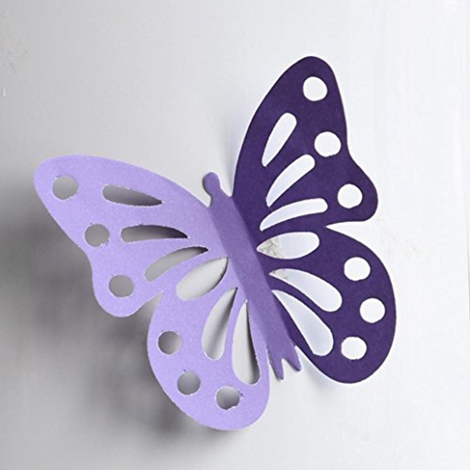 Déco Murale Diy 3d Butterfly Wall Stickers Ama Tm 20pcs Removable Mural Stickers