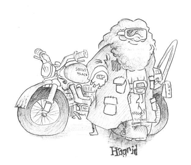 Mr Weasley Eventually Fixed Sirius Blacks Motorcycle And Gave It To Harry Potter BooksHarry