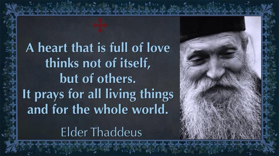 Elder Thaddeus | Prayer and fasting, Saint quotes, Catholic quotes
