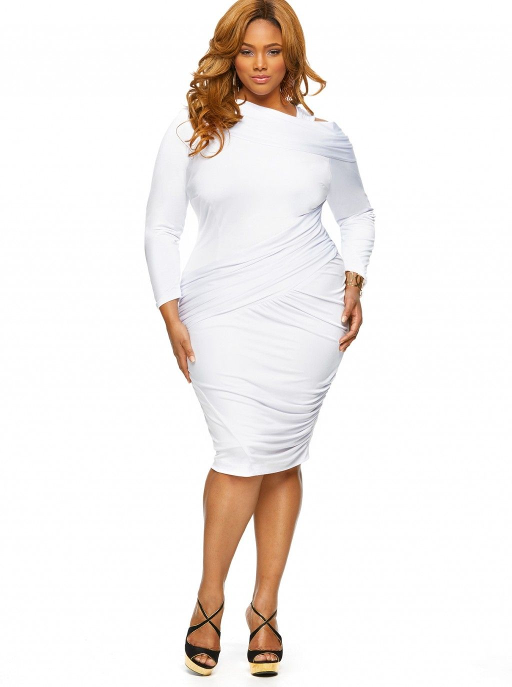1000  images about Stuff to Buy on Pinterest - White plus size ...