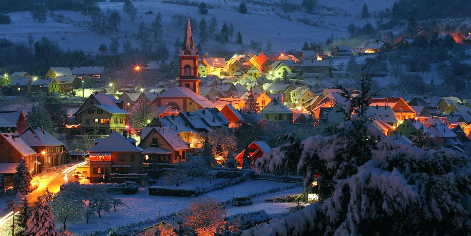 Winter In Colmar Alsace France Sejour Hiver Alsace Week End